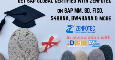 SAP Global Certification with Zenfotec Solutions